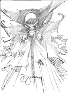 Spawn sketch by Dwayne Turner at Stripdagen Convention in 1999