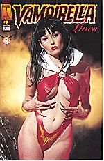 The Vampi model on Vampirella Lives #3