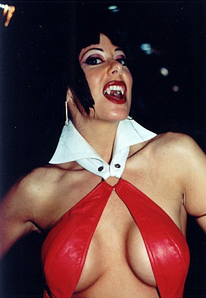 Diana Knight (with fangs)