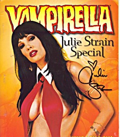 Special Julie signed cover